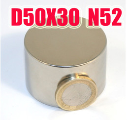 D50*30MM BIG magnet neodymium n50 NdFeB D50X30MM strong magnetS lodestone Super permanent magnet neodymium free shipping