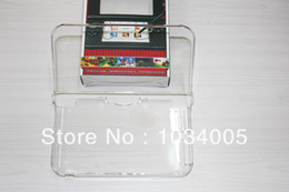 Wholesale-Free shipping Hard Protective Cover Crystal Case for Nintendo 3DS LL 3DS XL 20pcs lot without package