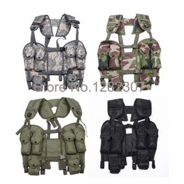Wholesale Fall OUTDOOR TACTICAL COMBAT LOAD BEARING LBV VEST MULTI COLORS