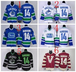 Wholesale Factory Outlet Alexandre Burrows Vancouver Canucks Hockey Jerseys Alexandre Burrows Jersey Home Blue th White Black Ice Red Cheap Jer