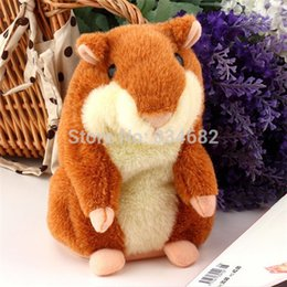 Wholesale Lovely Talking Hamster Plush Toy Hot Cute Speak Talking Sound Record Hamster Talking Toys for Children Russian English
