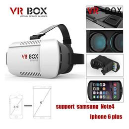 Wholesale 3D glass Christmas Google Cardboard Original xiaozhai Brand VR BOX Virtual Reality D Glasses for inch phone