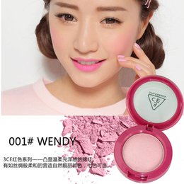 Wholesale Cosmetics house pink complexion rouge to enhance grace baking powder blush supernatural