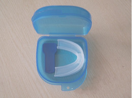 Wholesale New Soft Silicon Sleep Aids Anti Snore Mouthpiece Mouth Guard Anti Teeth Grinding Night Guard SV023291