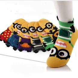 Wholesale Cute Socks Price - 2015 Christmas halloween gift 3D cartoon Minions Minion cotton socks Despicable Me Men women cute winter autumn sock factory price hot