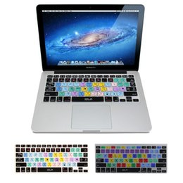 Wholesale Adobe Illustractor amp Photoshop Keyboard Shortcut Design Functional Silicone Cover For Macbook Pro Air Protector