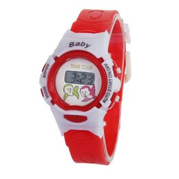 Wholesale Attractive Baby Cute Fashion Colorful Boys Girls Students Time Electronic Digital Wrist Sport Watch SP7