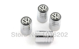 #203 Box-packed Lengthen Chrome Metal Wheel Tyre Valve Stem Caps Golf Jetta MK5 Polo CC Scirocco Passat Free Shipping M43774