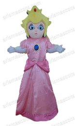 AM0601 Peach Princess mascot costume,cartoon costumes, party costumes,carnival costume Fur mascot free shipping