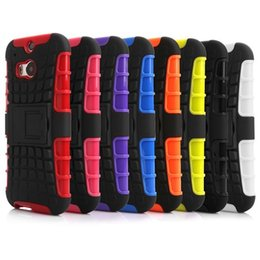 Wholesale Hybrid Heavy Duty Impact Armour Shockproof Silicone PC Case Stand For iphone S Plus Samsung Galaxy S3 S4 S5 S6 Edge Note HTC M9