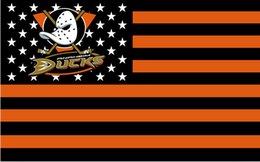 Anaheim Ducks USA NHL Flag hot sell goods National Hockey League 3X5FT 90x150cm Sport Outdoor Banner brass metal holes