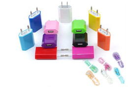 Wholesale Adapter Travel Charger Universal AC Power Adapter S MA Europe and US Regulation generations USB wall Cell Phone Chargers A0032