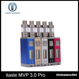 Wholesale Innokin iTaste MVP Pro Starter Kit iSub G MVP W mah Battery iTaste MVP3 PRO Kit Original New Arrival
