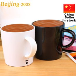 Wholesale Unique Tea Cup Speaker Bluetooth Speaker Records As Gift for Your Lover Wireless Speaker Bluetooth Phone Call Special Design