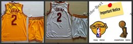 Wholesale 2015 New Arrivals Hot Items Irving Cleveland Jerseys shorts set blue white red yellow size S XL Accept Mix order