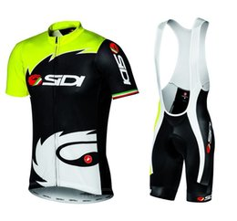Wholesale New men cycling jersey cycling clothing cycling wear bicycle clothing Bib shorts set breathable quick dry S XL