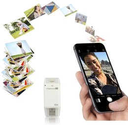 Wholesale 3 in iFlash Drive USB Micro SD SDHC TF Card Reader Writer for iPhone s plus ipad itouch Android phones