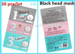 Wholesale New Korea Brand Holika Black Head Remover Face Care Pig Nose Clear Mask Step Beauty Cleaning Supplies B051