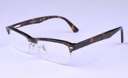 Wholesale 7014 frame optical eyeglass Acetic acid material frame men and women glasses vintage big shortsightedness frame reading optional frame frees