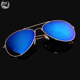 Wholesale-Newest Brand Designer Women Sunglasses Men Fashion Gradient Rimless Sunglasses Frog Mirror Gradient Unisex Sunglasses