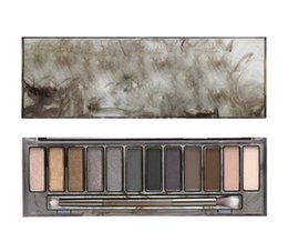 Wholesale 2015 HOT Makeup NUDE Smoky Palette Color Eyeshadow Palette g High quality DHL