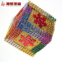 Wholesale Sticky Beads - Christmas decorations is 7.5 cm luxury sticky beads stick drill bubble tree gift box (individual) 30 g supplies crafts hanging party supplie