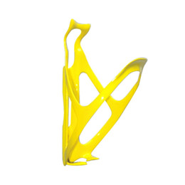 BC2007 guangzhou supply high quality full carbon fiber water bottle cage bike bottle cage yellow color painted bike accessaries
