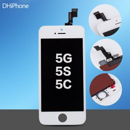 Wholesale For iPhone G S C Inch black color touch sreen size Replacement LCD touch sreen by