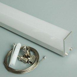 Wholesale 2015 Time limited Led Aluminum Profile x2m For Led Strip Pendent Tube Easy Installation used for Dinner Room Lighting ALP029