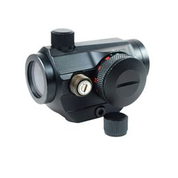 Wholesale New Multi Coated Optical Red Green Dot Sight T Micro Red Dot Sight For Rifle Airsoft W2277A