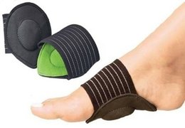 Wholesale Foot pad pairs Foot care Cushions Arch Supports Sole Angel Arch Wraps