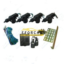 Entrée de la porte de sécurité à vendre-Universal 4 portes voiture Télédéverrouillage Verrouillage centralisé Verrouillage Kit de voiture système d'alarme de sécurité automobile de conversion de contrôle à distance