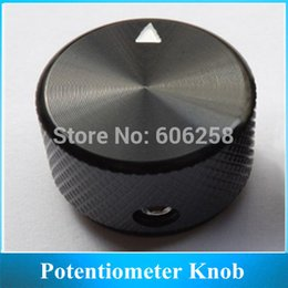 Wholesale Multi turn Aluminum Cabinet Potentiometer Knob Speaker Volume Control Switch Cap MM