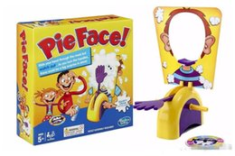 Wholesale 2015 Korea Running Man Pie Face Game Pie Face Cream On Her Face Hit The Send Machine Paternity Toy Rocket Catapult Game Consoles Free Ship