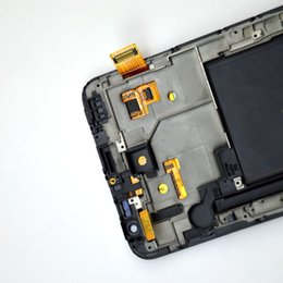 Wholesale For Samsung Galaxy Note N7000 i9220 lcd display touch screen digitizer assembly Bezel Frame Tools Black