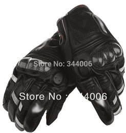 Wholesale-Free shipping motorcycle gloves racing pure leather gloves racing gloves