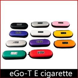 eGo CE4 E Cigarette Starter Kits eGo-T Battery 650mah 900mah 1100mah CE4 Atomizer Electronic Cigarette Zipper Case DHL freeshipping