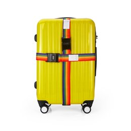 Wholesale Belt Lock Wire Lock Travel Bag Baggage Luggage Bicycle with Secret Digit Numbers With Rainbow Color And Fashionable Design