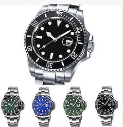 Luxury Man Watch Fashion Watch Glass 40mm Style Ceramic Bezel Blue Luminescent Dial Automatic Mens Watch Men's Watches
