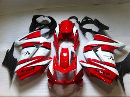Wholesale NEW High quality Injection fairings gift FAIRING Set For KAWASAKI Ninja250 R EX250 red color fairings