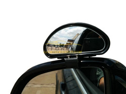 Wholesale Blind Spot Mirror Wide Angle Side View Adjustable fits Car SUV Truck RV