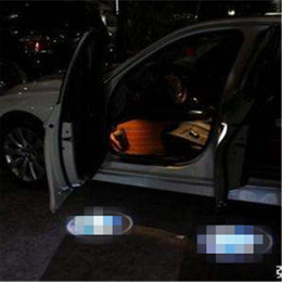 Case for ssangyong Case for GAZ Car Logo LED Interior Lights Welcome Door Ghost Shadow Lamps 12V