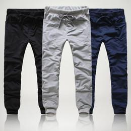 Wholesale-Casual Mens Jogger Dance Sportwear Baggy Harem Pants Slacks Trousers Sweatpants