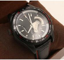 Wholesale Luxury Brands Calibre RS RS Watch Cheap Black Men Leather Stainless Dive Wristwatches Auto Mechanical Fashion Mens Swiss Watches Sports