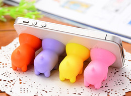 Wholesale New Rubber Octopus Sucker Ball Stand Holder For iPod iPhone Samsung iPhone Tablet Pc Mobile Phone Accessories