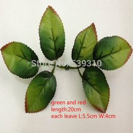 Wholesale-Free shipping artificial leaves DIY artificial Rose nylon-flower leaves(100pcs lot)