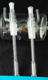 new Transparent glass inserts, making glass Hookah   glass bong accessories, high 18.5cm, spot sales