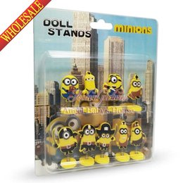 Wholesale Hot sale christmas exquisite gifts cartoon PVC Minions3 spring doll toy Car Automobile decoration home furnishing articles