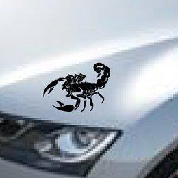 Wholesale new reflective waterproof vinyl wrap reflective tap cool scorpion totem car sticker decals