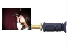 Wholesale Reverse Door Peephole Viewer with degree vision Express Delivery Door Eye